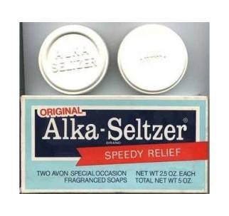 Alka Seltzer Soap