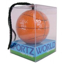 Basketball Soap-On-A-Rope