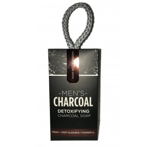 Charcoal Detoxifying Soap-On-A-Rope