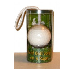 Golf Ball Soap-On-A-Rope