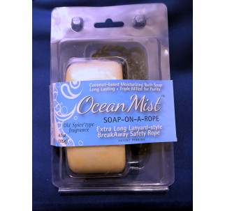Ocean Mist Soap-On-A-Rope (Old Spice type fragrance)