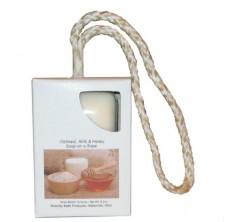 Oatmeal, Milk & Honey Soap-On-A-Rope