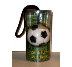 Soccer Ball Soap-On-A-Rope